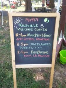 Kidsville Marquee