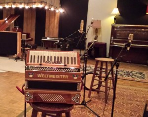 Accordion at Sound Emporium, Nashville