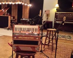 Accordion at Sound Emporium, Nashville